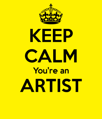 keep-calm-you-re-an-artist